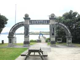 Arch of Remembrance, Kohukohu